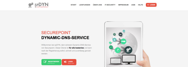 Securepoint DynDNS