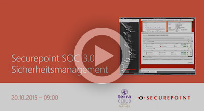 SOC3 Sicherheitmanagement