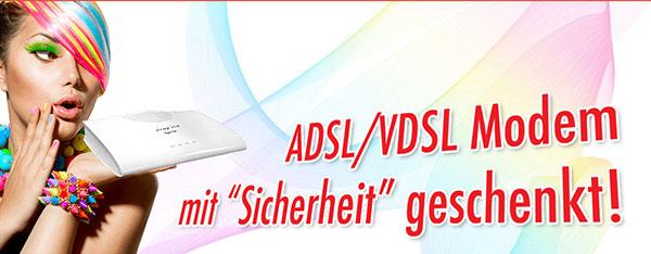 ADSL/VDSL2 Modem  geschenkt
