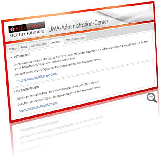 UMA Admin Center