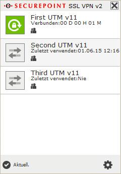 Securepoint VPN-Client 2.0